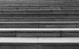 Escadas preto e branco foto de stock