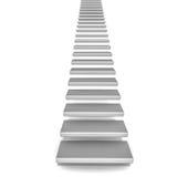 Escadas que vão acima Foto de Stock