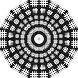 Escadas redondas do projeto, projeto preto e branco, redondo como escadas, mistura ilustração do vetor