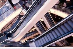 Escadas rolantes Foto de Stock