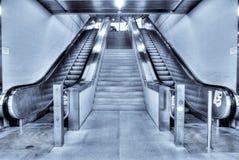 Escadas rolantes Fotografia de Stock Royalty Free
