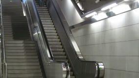 Escadas rolantes do metro de Atenas filme
