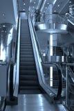 Escadas rolantes e escadas, Domoded Imagem de Stock