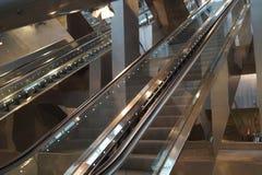 Escadas rolantes em Napoli Foto de Stock
