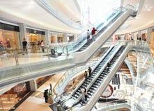 Escadas rolantes moventes Imagem de Stock