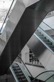 Escada rolante na loja Imagens de Stock Royalty Free