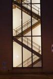Escadas urbanas Imagens de Stock Royalty Free