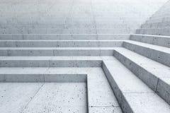 Escadas vazias na cidade imagens de stock