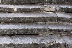 Escadas velhas Fotografia de Stock Royalty Free