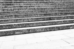Escadas velhas Fotos de Stock