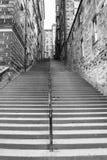 Escadas velhas Foto de Stock Royalty Free