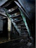 Escadas velhas Imagens de Stock