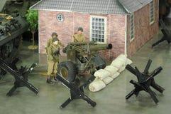 Escadron d'artillerie Image libre de droits