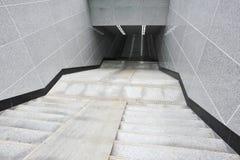 Escala al subterráneo Fotos de archivo