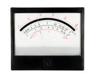 Escala análoga del multímetro de la herramienta de la medida con el indicador imagenes de archivo