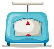 escala da cozinha ilustração stock