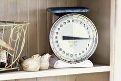 Escala da cozinha Fotografia de Stock