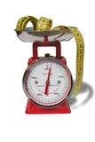 Escala da dieta Imagem de Stock Royalty Free