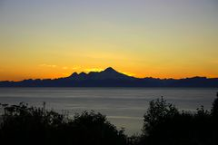 Escala de Alaska Imagens de Stock Royalty Free