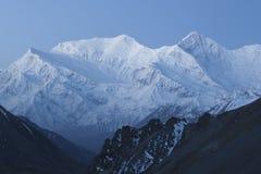 Escala de Annapurna fotografia de stock