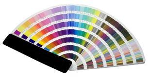 Escala de colores Imagen de archivo