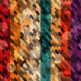 Escala de cor abstrata sem emenda Imagem de Stock