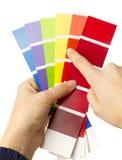 Escala de cores Foto de Stock
