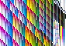Escala de cores da impressora fotos de stock royalty free