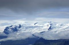 Escala de Hvannadalshnukur, Islândia. Foto de Stock Royalty Free