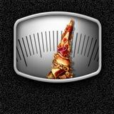 Escala de Junk Food Imagenes de archivo