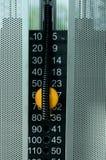 Escala de la máquina del peso Imagen de archivo