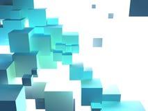 Escala de los cubos Foto de archivo