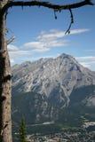 Escala de montanha Fotografia de Stock