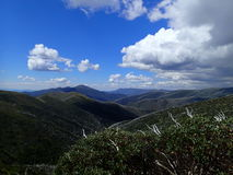 Escala de montanha Foto de Stock Royalty Free