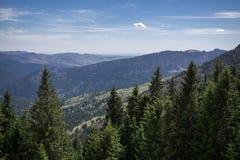 Escala de montanha Fotografia de Stock Royalty Free