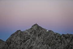 Escala de montanha Foto de Stock
