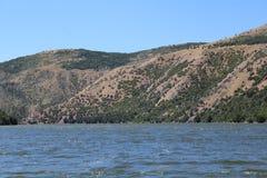Escala de montanha do Sawtooth em Idaho Fotografia de Stock