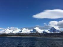 Escala de montanha em Noruega Imagem de Stock Royalty Free