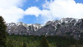 Escala de montanha Ouray de San Juan, CO Imagem de Stock