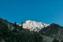 Escala de Nepal - Himalayas foto de stock royalty free