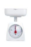 Escala de peso da cozinha Foto de Stock