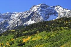 Escala de Sneffels da montagem, Colorado Imagem de Stock