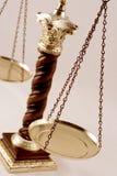 Escala del balance Foto de archivo