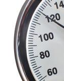 Escala del manómetro fotografía de archivo