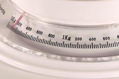 Escala del peso foto de archivo libre de regalías
