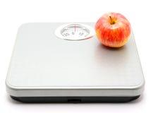 Escala del peso Imagen de archivo libre de regalías