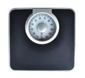 Escala del peso del cuarto de baño Imagen de archivo
