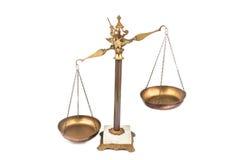 Escala desequilibrado Fotografia de Stock Royalty Free