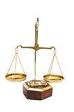 Escala farmacéutica del balance de la vendimia Imágenes de archivo libres de regalías