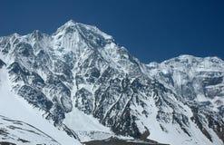 Escala Himalayan majestosa. Fotos de Stock Royalty Free